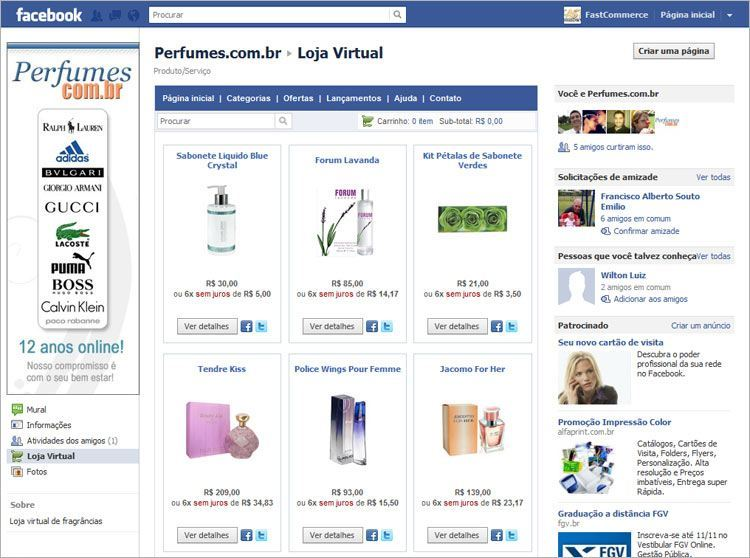2aa6409df Comece a vender com Facebook    Fastcommerce
